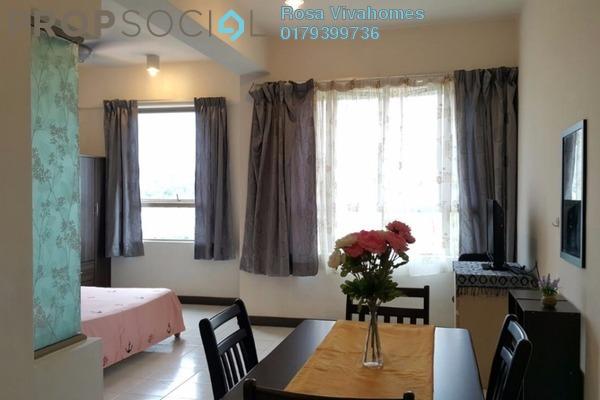 For Rent Condominium at Ritze Perdana 1, Damansara Perdana Leasehold Fully Furnished 0R/1B 1.5k