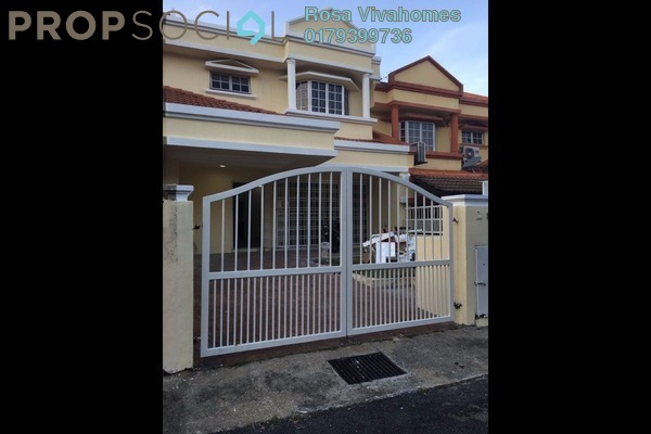 For Sale Terrace at BRP 4, Bukit Rahman Putra Freehold Unfurnished 4R/3B 700k