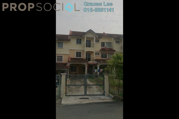 For Sale Townhouse at Taman Kajang Perdana, Kajang Leasehold Semi Furnished 3R/2B 292k