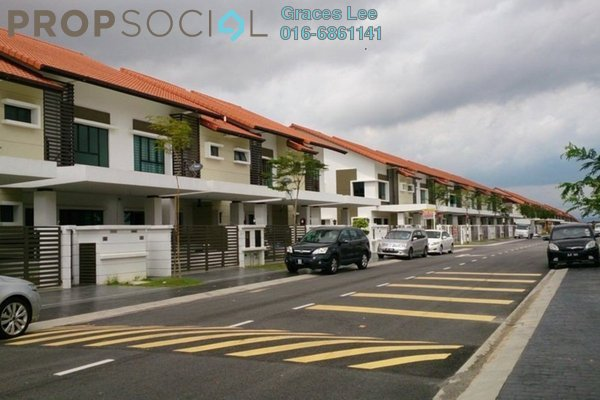 For Sale Terrace at Canting, Alam Impian Freehold Semi Furnished 5R/6B 1.14m