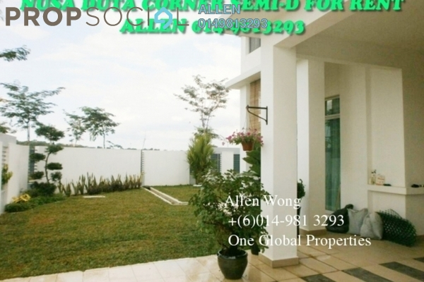 For Rent Semi-Detached at Taman Nusa Bestari 1, Iskandar Puteri (Nusajaya) Freehold Fully Furnished 5R/5B 4k