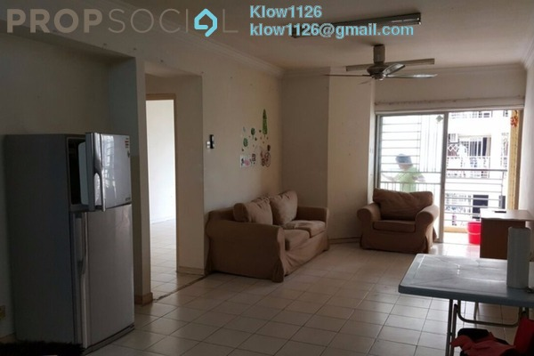 For Rent Condominium at Warisan Cityview, Cheras Leasehold Semi Furnished 3R/2B 1.6k