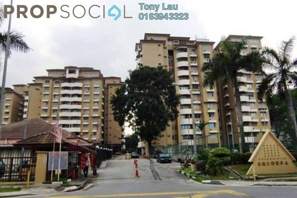 For Rent Condominium at Sri Desa, Kuchai Lama Freehold Fully Furnished 2R/2B 1.8k
