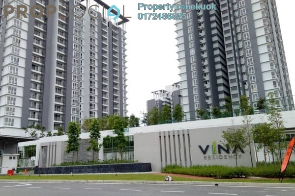 For Rent Condominium at Vina Versatile Homes, Cheras South Freehold Semi Furnished 3R/2B 1.7k