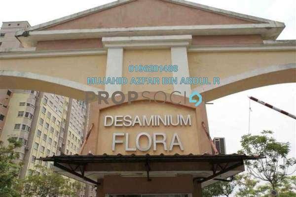 For Rent Apartment at Desaminium Flora, Bandar Putra Permai Leasehold Semi Furnished 3R/2B 950translationmissing:en.pricing.unit