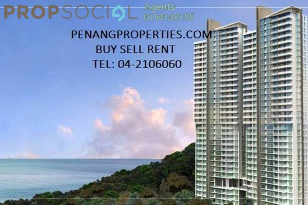 For Rent Condominium at Island Resort, Batu Ferringhi Freehold Semi Furnished 0R/0B 2.8千