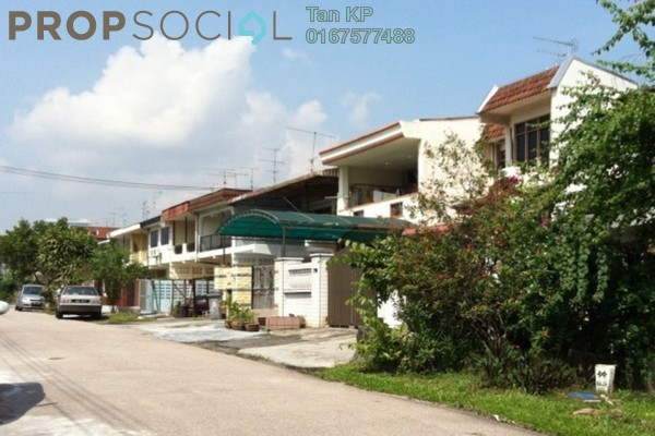 For Rent Terrace at Taman Sri Tebrau, Johor Bahru Freehold Unfurnished 4R/2B 1.3k