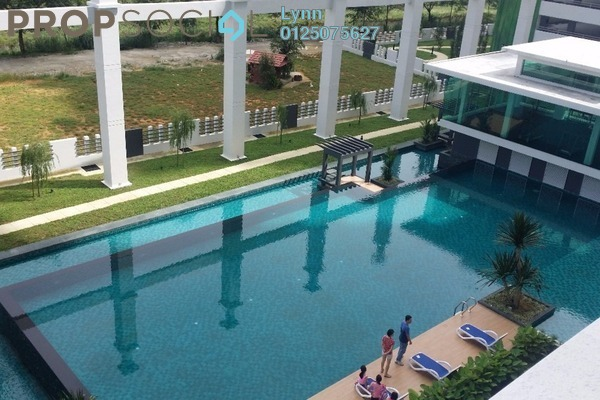 For Rent Condominium at Kiara Residence, Bukit Jalil Leasehold Fully Furnished 3R/2B 2k