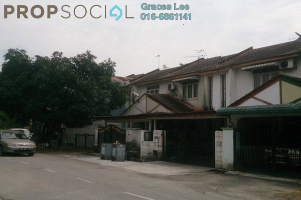 For Rent Terrace at Taman Puchong Indah, Puchong Leasehold Semi Furnished 3R/3B 1.2k