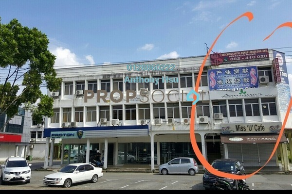 For Rent Shop at Jalan Rubber, Kuching Freehold Unfurnished 0R/2B 3k