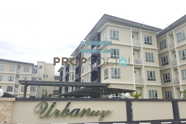For Rent Apartment at URBANeeze, Kuching Freehold Fully Furnished 3R/2B 1.8k
