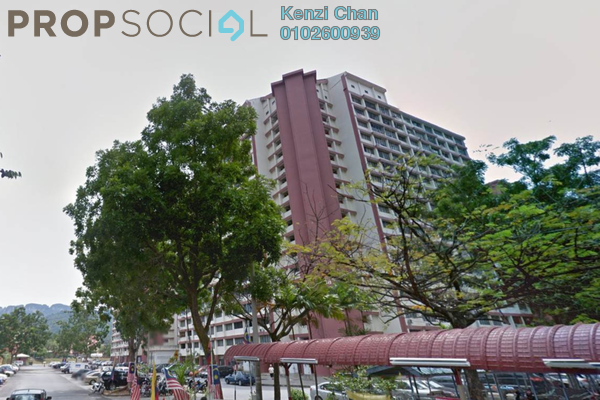For Rent Condominium at Sri Tioman II, Setapak Freehold Fully Furnished 2R/2B 1.15k