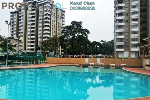For Rent Condominium at Sri Mahligai, Shah Alam Leasehold Semi Furnished 2R/2B 1.3k