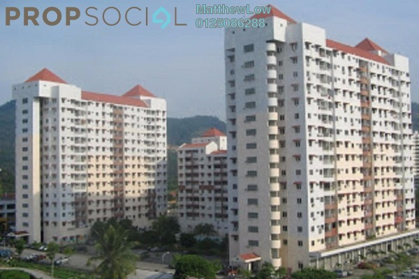 For Rent Apartment at Taman Seri Sari, Relau Freehold Semi Furnished 3R/2B 800translationmissing:en.pricing.unit