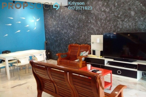 For Sale Condominium at Section 5, Bandar Mahkota Cheras Freehold Semi Furnished 4R/3B 480k