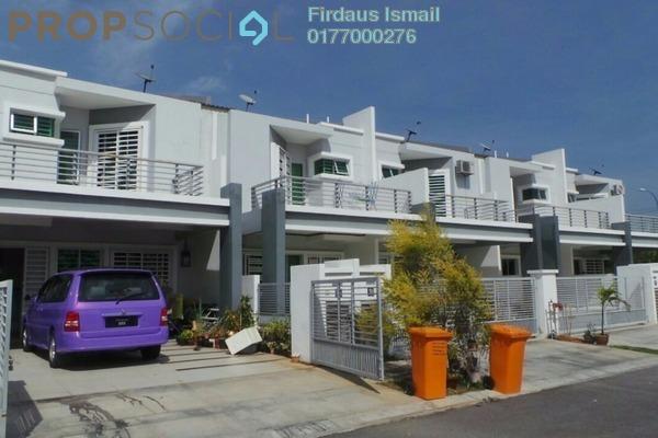 For Sale Terrace at Nusari Aman, Bandar Sri Sendayan Freehold Semi Furnished 4R/3B 430k