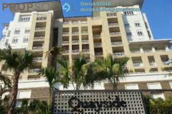 For Sale Condominium at Quayside, Seri Tanjung Pinang Freehold Fully Furnished 1R/2B 1.3m