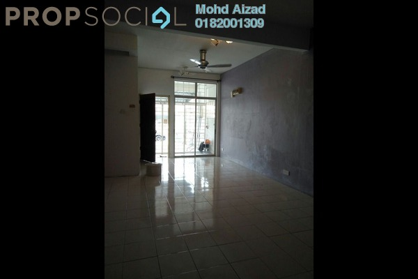 For Rent Townhouse at Puncak Perdana, Shah Alam Leasehold Semi Furnished 3R/2B 1k