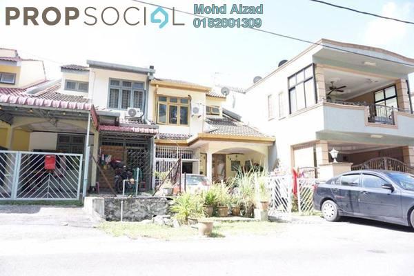 For Sale Terrace at Taman Saga, Ampang Leasehold Unfurnished 4R/2B 420k