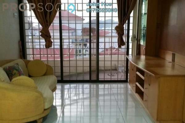 For Sale Condominium at Prima Saujana, Kepong Leasehold Semi Furnished 3R/2B 330k