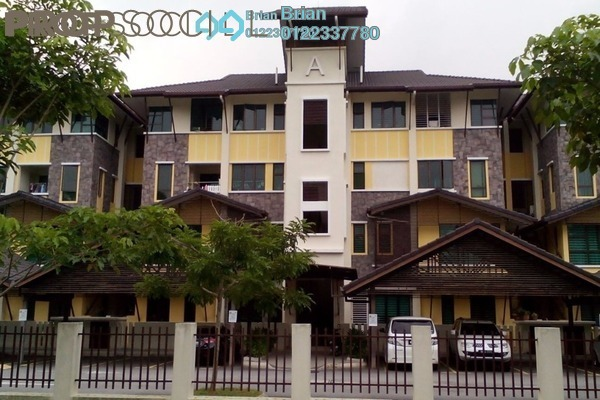 For Sale Townhouse at Lake Valley, Bandar Tun Hussein Onn Leasehold Semi Furnished 4R/4B 530k