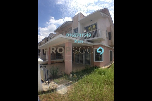 For Sale Terrace at D'Alpinia, Puchong Leasehold Semi Furnished 4R/3B 828k