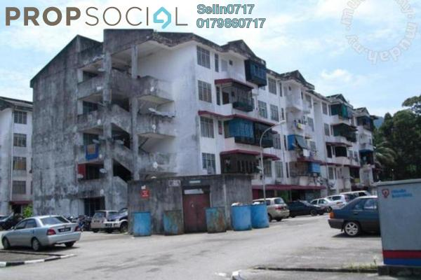 For Rent Apartment at Taman Sri Indah, Balik Pulau Freehold Semi Furnished 2R/1B 500translationmissing:en.pricing.unit