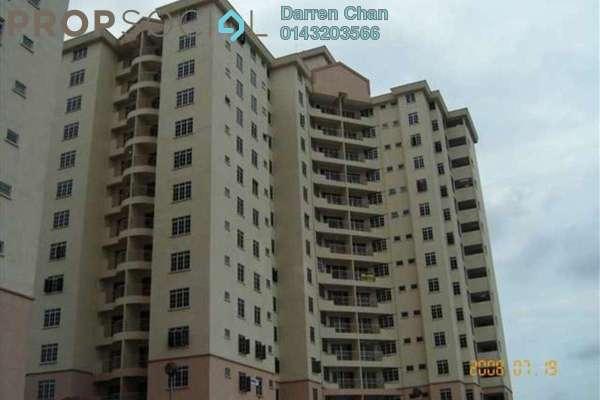 For Rent Condominium at Zamrud Apartment, Old Klang Road Leasehold Semi Furnished 3R/2B 1.4k
