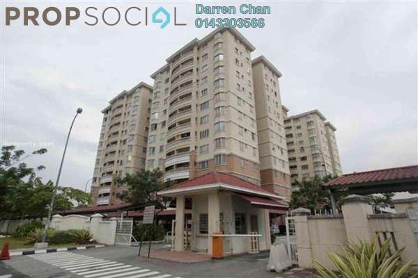 For Rent Condominium at Pertiwi Indah, Cheras Leasehold Semi Furnished 3R/2B 1.8k