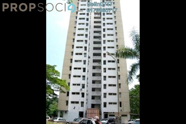 For Sale Apartment at Taman Bukit Jambul, Bukit Jambul Freehold Semi Furnished 2R/1B 165k