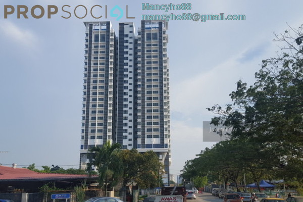 For Sale Condominium at DeSkye Residence, Jalan Ipoh Freehold Semi Furnished 3R/2B 685k