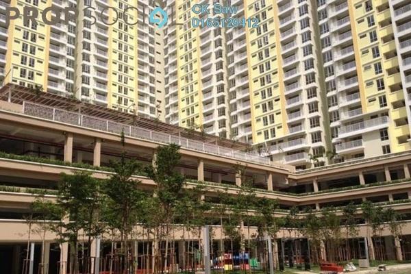 For Rent Condominium at Platinum Lake PV15, Setapak Leasehold Semi Furnished 4R/2B 2.1k