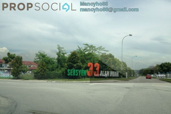 For Sale Terrace at Taman Alam Megah, Shah Alam Freehold Semi Furnished 4R/3B 750k