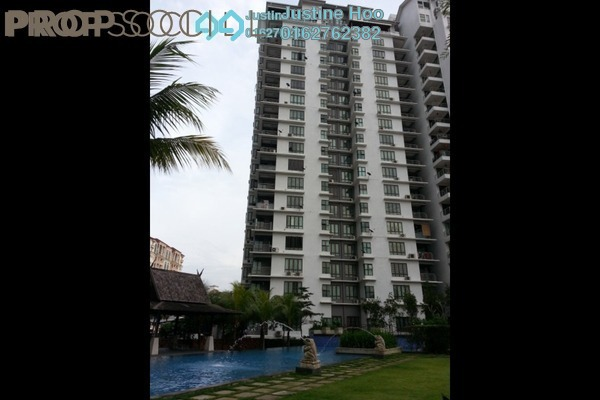 For Sale Condominium at Atmosfera, Bandar Puchong Jaya Freehold Semi Furnished 4R/3B 595k