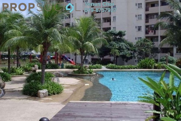For Sale Condominium at Paradesa Rustica, Bandar Sri Damansara Freehold Semi Furnished 3R/2B 430k