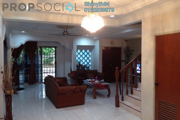 For Sale Terrace at Mutiara Bukit Kemuning, Kota Kemuning Freehold Semi Furnished 3R/5B 980k