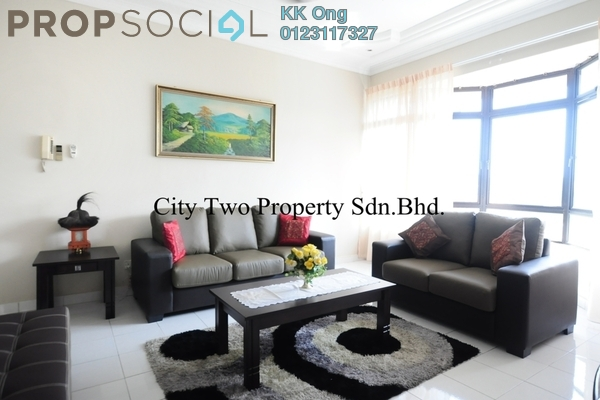For Rent Condominium at Robson Condominium, Seputeh Freehold Fully Furnished 3R/2B 2.8k