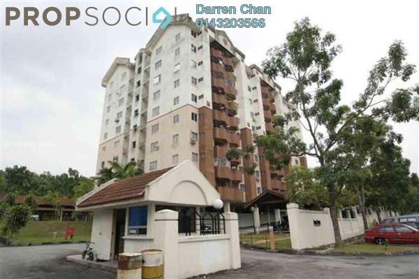 For Rent Apartment at Juara Suria Apartment, Seri Kembangan Freehold Unfurnished 3R/2B 900translationmissing:en.pricing.unit