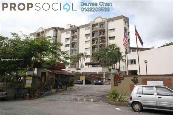 For Rent Apartment at Meadow Park 1, Old Klang Road Freehold Semi Furnished 3R/2B 1.4k