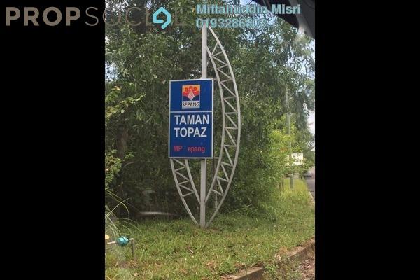 For Sale Apartment at Taman Topaz, Dengkil Freehold Unfurnished 3R/2B 180k