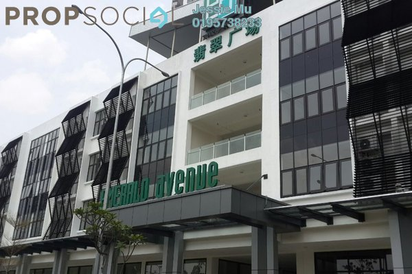 For Rent Shop at Emerald Avenue, Selayang Freehold Unfurnished 0R/6B 8k