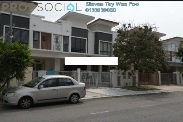 For Sale Terrace at Setia Indah, Setia Alam Freehold Semi Furnished 4R/4B 738k