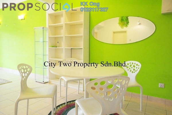 For Rent Condominium at Kristal Court, Seputeh Freehold Fully Furnished 2R/2B 2.5k