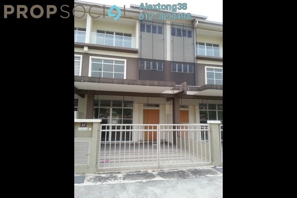 For Sale Terrace at Kemuning Utama, Shah Alam Freehold Unfurnished 5R/5B 850k