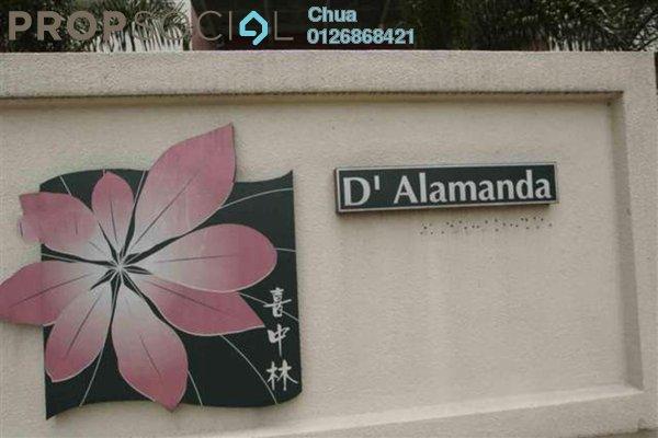 For Rent Condominium at D'Alamanda, Cheras Leasehold Semi Furnished 3R/2B 1.7k