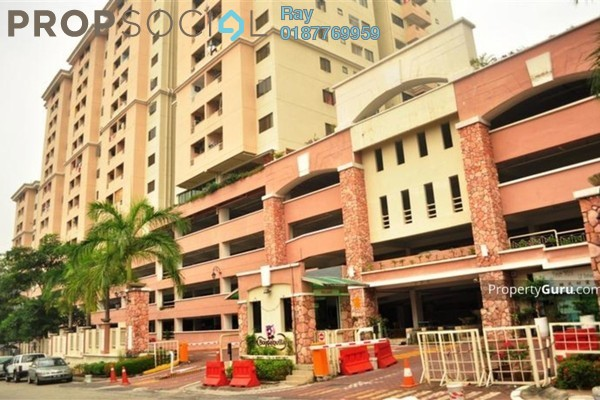 For Rent Condominium at Bougainvilla, Segambut Freehold Fully Furnished 3R/2B 1.5k
