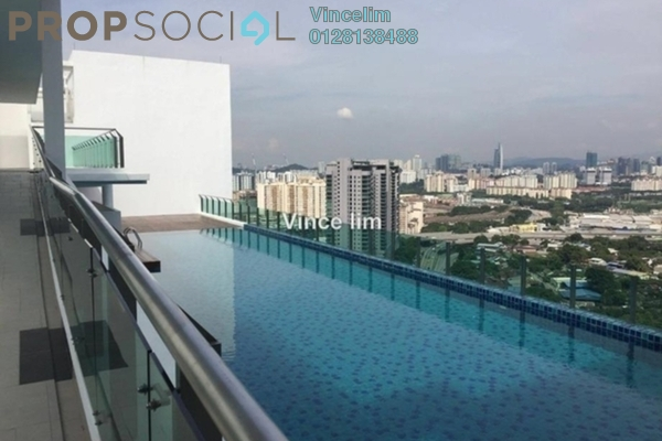 For Sale Serviced Residence at Central Residence, Sungai Besi Freehold Semi Furnished 2R/1B 480k