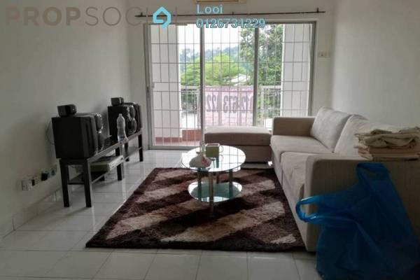 For Sale Apartment at Taman Cuepacs, Batu 9 Cheras Freehold Semi Furnished 3R/2B 400k