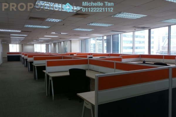 For Rent Office at Menara TA One, KLCC Freehold Fully Furnished 0R/0B 56.7k