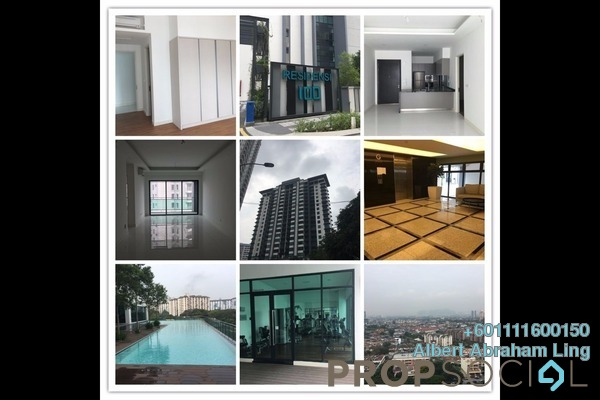 For Sale Condominium at 100 Residency, Setapak Freehold Semi Furnished 3R/3B 745k